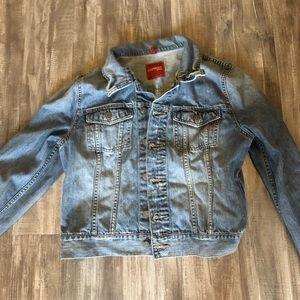 Express denim jacket - large